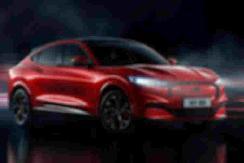 NEDC续航600公里 福特Mustang Mach-E北京车展首发 【图】