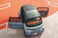 """车门非对称设计 车头车尾分不清 这款电动车演绎""""不走寻常路""""到极致 【图】"""