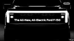 2022年发布 福特发布纯电版F