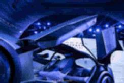 实拍别克概念车Electra,配备蝴蝶展翼对开门、视网膜曲面屏! 【图】
