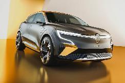 雷诺全新EV概念车官图发布 2021年底量产