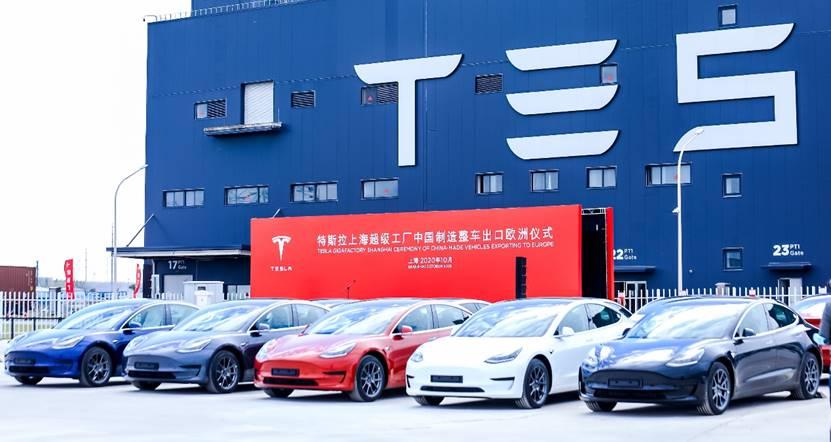 至十余个欧洲国家 中国制造Model 3正式出口