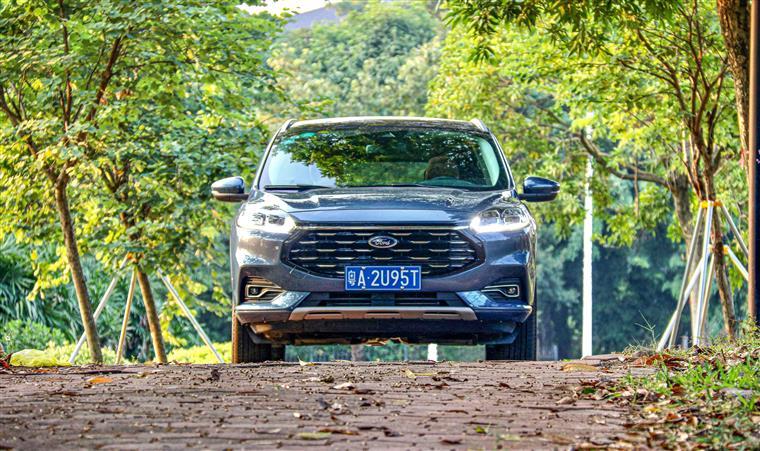 试驾福特锐际:全系2.0T+8AT、不到17万起售的真香SUV!