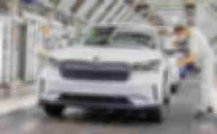 大众MEB平台第三款车型 斯柯达Enyaq iV在海外正式投产 【图】