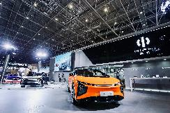 高合汽车HiPhi X亮相海南新能源车展 3000辆创始版即将预订售罄