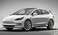 定价比MODEL 3更便宜?特斯拉全新车型渲染图曝光