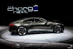 众多光环加持,奥迪纯电概念车e-tron GT在CES再次亮相