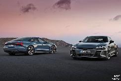 奥迪e-tron GT发布,百公里加速仅需4.1s,充电5分钟能跑100km