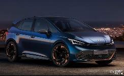 根据MEB平台打造 西亚特全新电动车Cupra Born将在下半年生产