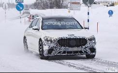 搭4.0L V8发动机和电机组成的插混动力 奔驰AMG S63e谍照曝光