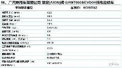 共有三种续航版本 广汽埃安AION Y续航里程曝光