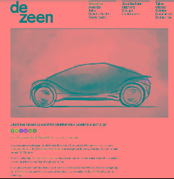 智己汽车全新概念车草图曝光!将于上海车展首发