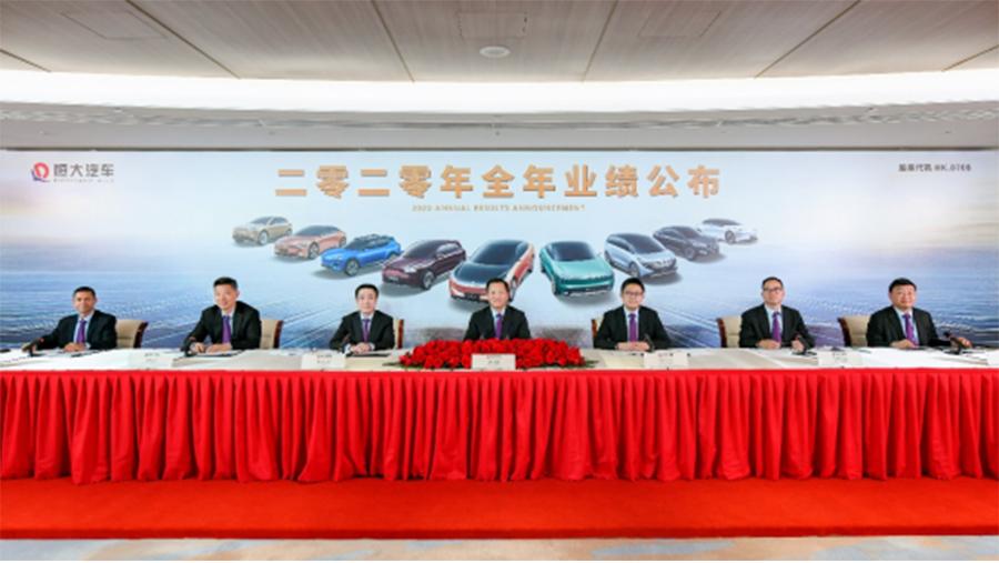 造车路上已投入474亿元 恒大汽车2020年财报曝光