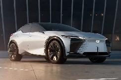 透露未来设计方向 雷克萨斯全新电动概念车发布