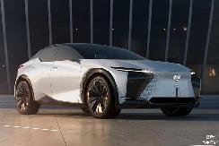 前卫感十足,雷克萨斯全新概念车LF-Z正式发布