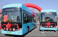 """助力大连公交步入""""氢能时代"""",博能上饶客车批量交付"""