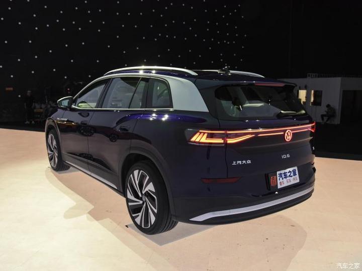 2021上海车展:上汽大众ID.6 X正式亮相