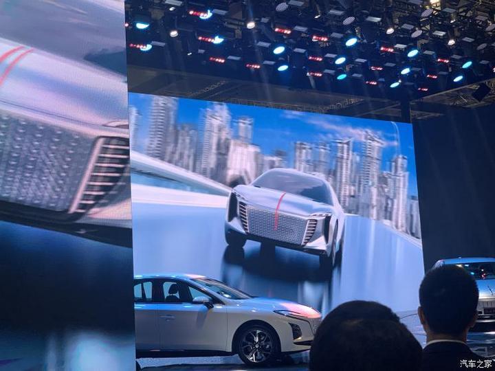 2021上海车展:红旗EV