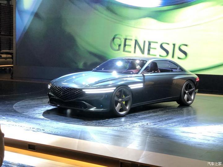 2021上海车展:捷尼赛思X概念车首次亮相