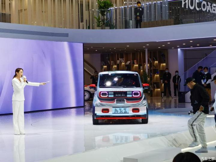 2021上海车展:新宝骏KiWi EV A&S联名版