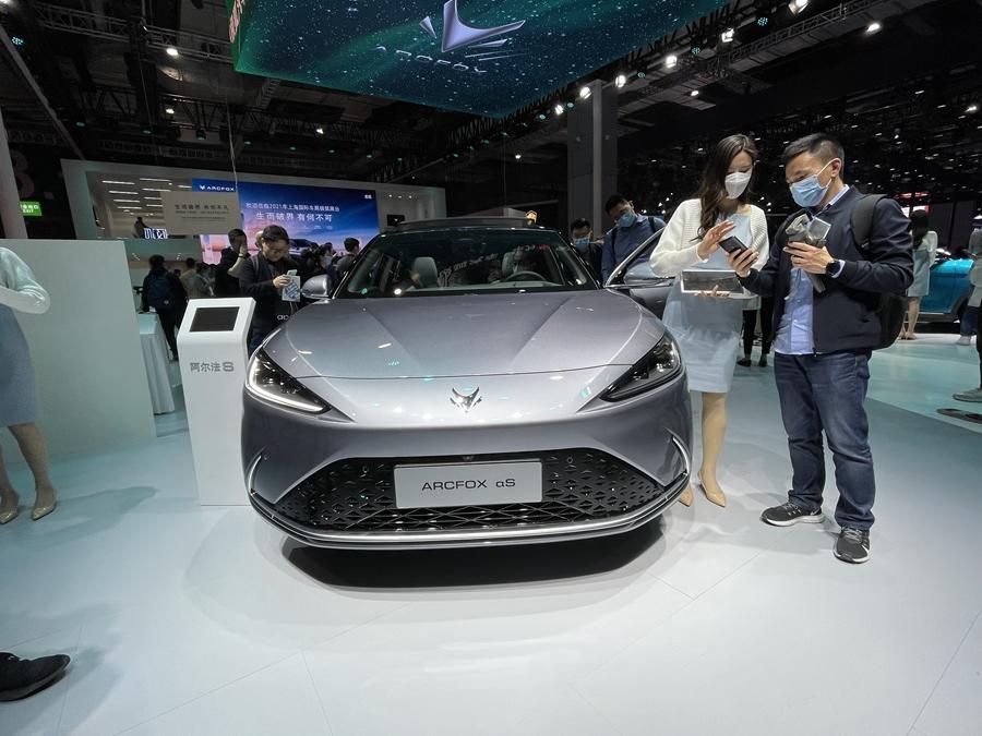 2021上海车展:ARCFOX阿尔法S/华为HI版正式亮相