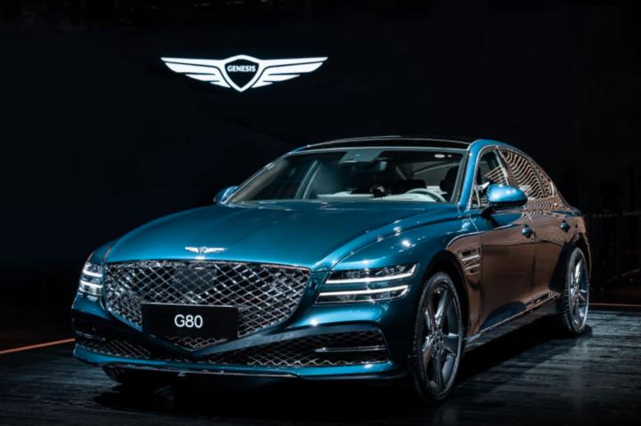 捷尼赛思纯电G80上海车展全球首发