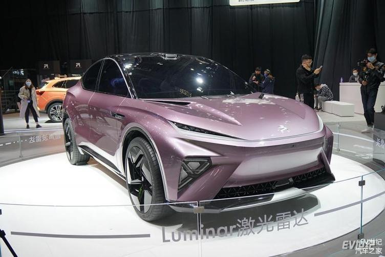 2021上海车展|R汽车全新概念车及5G智能汽车MARVLE R亮相