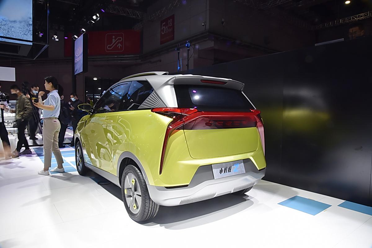 """2021上海车展:两台来自未来的""""蚂蚁""""亮相"""