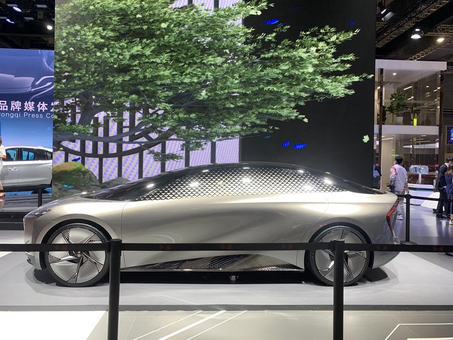 2021上海车展:红旗EV-Concept概念车正式亮相