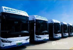 亿华通80kW氢燃料电池发动机,助力成都龙泉公交绿色发展