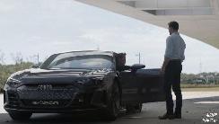 钢铁侠座驾来了,奥迪RS E-tron GT亮相实拍