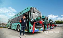 """中通氢燃料城市公交投入运营,无锡步入公交""""氢时代"""""""