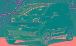 新宝骏KiWi EV亮相上海车展,最大续航或305km