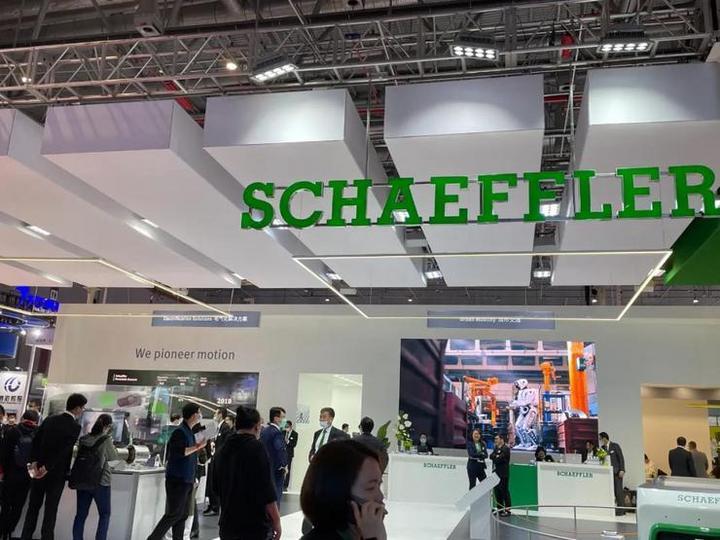 面向电气化与智能化,舍弗勒多款产品于上海车展迎来首秀