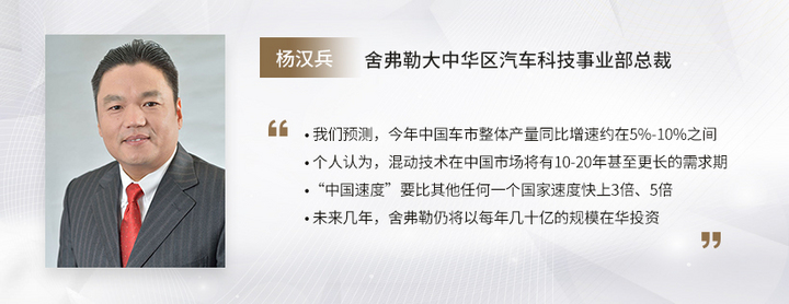 C Talk | 舍弗勒杨汉兵:中国市场前景可期,将持续加大在华投资