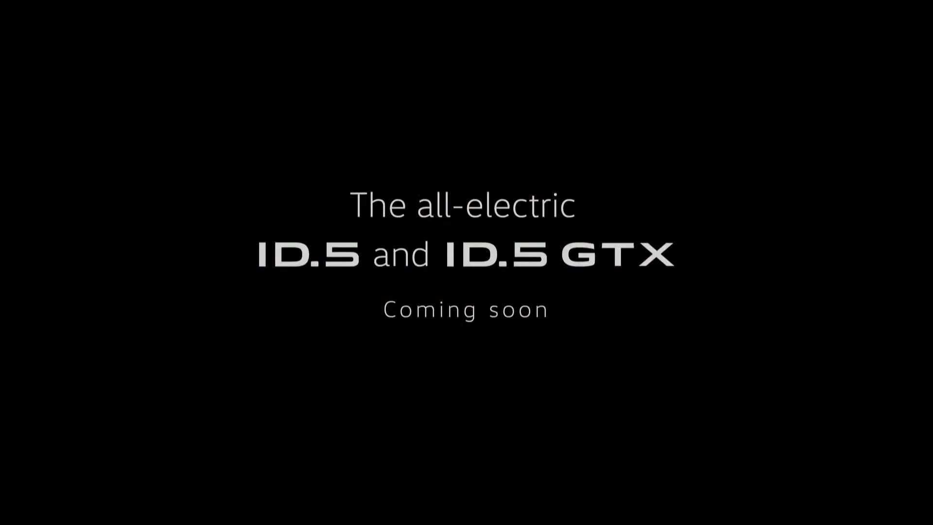 第四季度发布/同步推GTX版 大众ID.5预告图