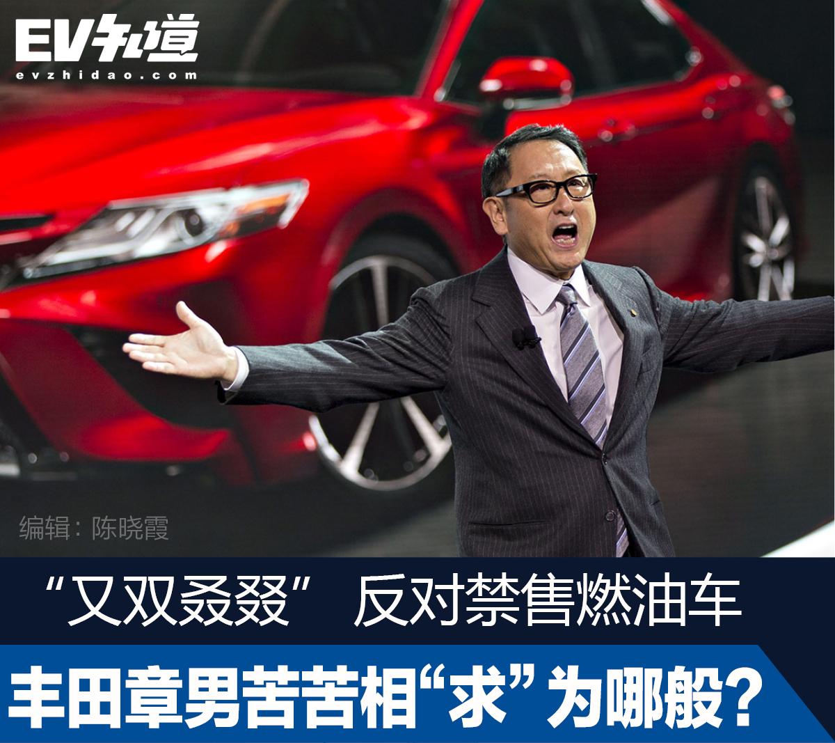 """""""又双叒叕""""反对禁售燃油车,丰田章男苦苦相""""求""""为哪般?"""