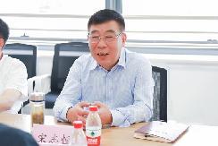 金华市政协党组书记宋志恒等一行莅临零跑金华AI工厂调研考察