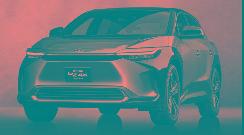 丰田bZ4X纯电SUV于年内亮相或2022年初上市