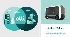 Local Motors与door2door合作 共同开发自动驾驶班车拼车和分析软件