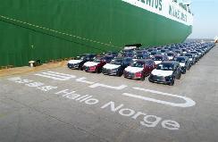比亚迪唐EV发运挪威 8月完成首批交付