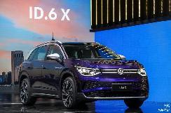 续航超过580km,大众纯电7座SUV,ID·6X即将正式上市