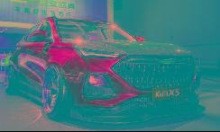 年轻就是一股劲儿,欧尚X5魔改系列·绿魔上车展