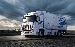 现代Xcient燃料电池重卡将于2023年在加州上路