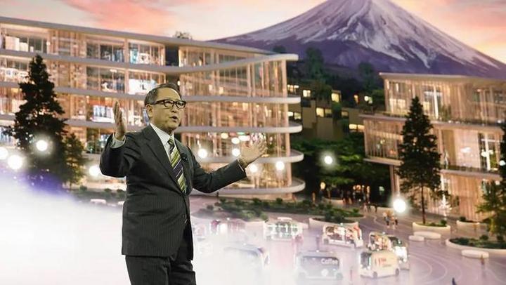 无人车开进东京奥运会,丰田的「变」与「不变」
