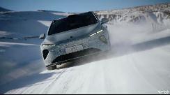 蔚来ET7已于新西兰完成冬季冰雪测试