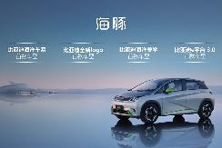 e平台3.0、海洋车系首款产品 比亚迪海豚将于成都车展上市