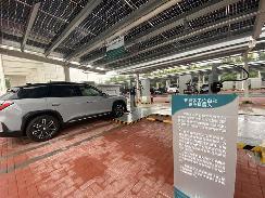 """【采桩网】一一中国高规格""""零碳""""充电站长啥样?"""