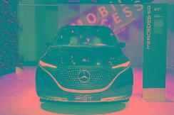 2021慕尼黑车展 | EQ家族纯电MPV 奔驰EQT概念车正式发布