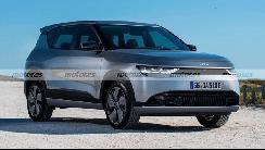 起亚纯电动SUV EV4假想图曝光 或将于2022年亮相